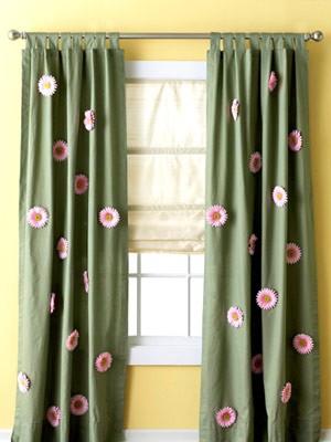 rèm cửa handmade