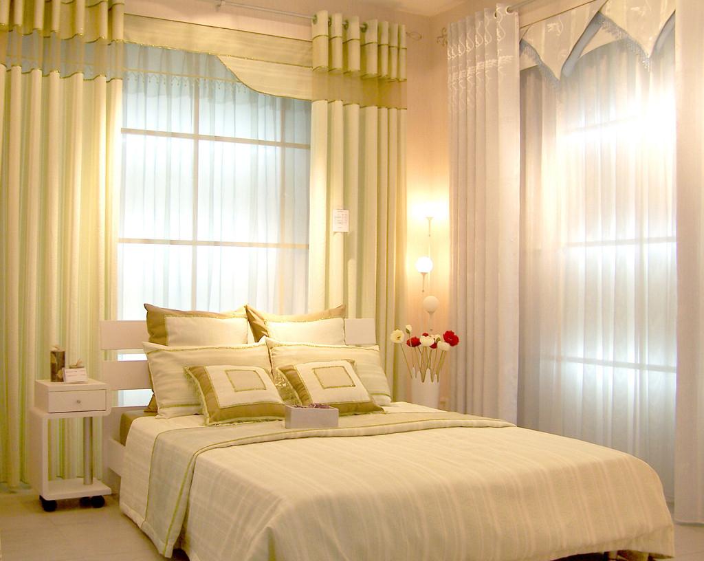 Rèm cửa sổ phòng ngủ mang lại sự thoải mái