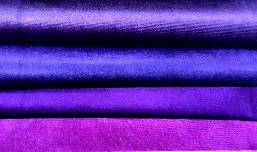 Vải nhung cũng được sử dụng để may rèm