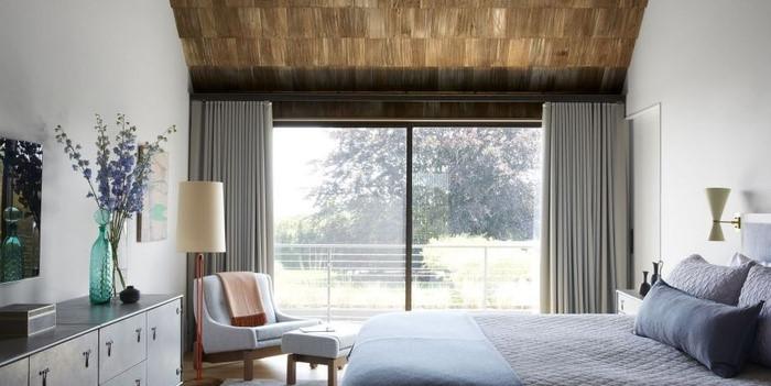 Rèm phòng ngủ thanh trượt đầy tiện lợi