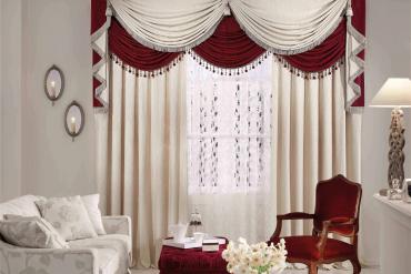 Không gian nội thất sang trọng và hài hòa hơn với mẫu rèm vải hai lớp