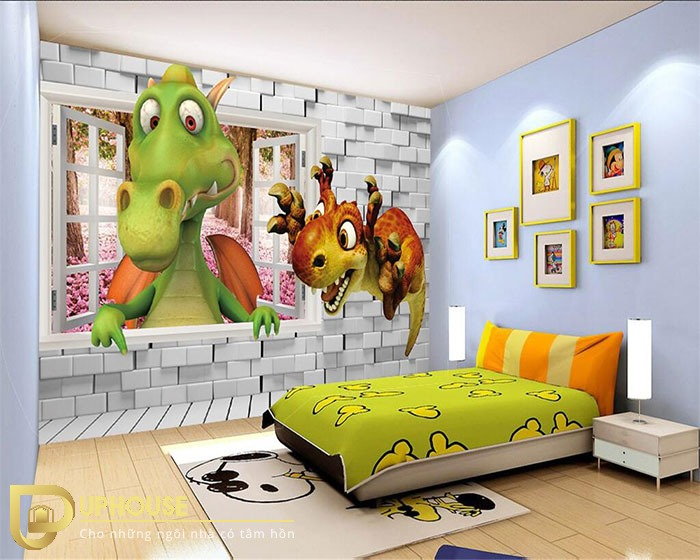 3D-wallpaper-children-room-3